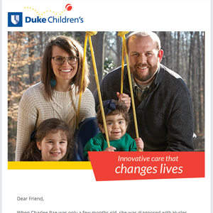 Duke Children's Innovative Care Email