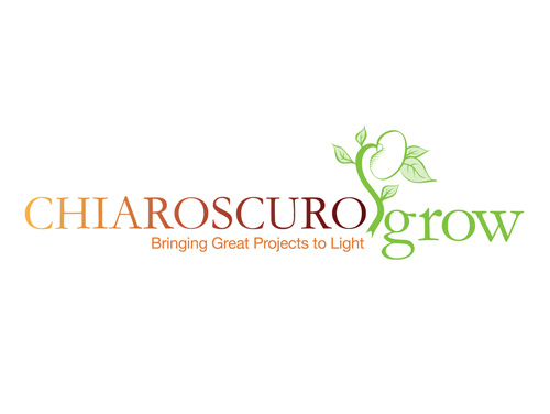 Color logo created by MainSpring for the organization Chiaroscuro Grow