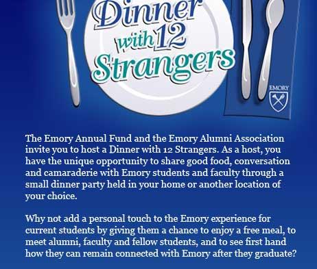 Dinner with 12 Strangers info
